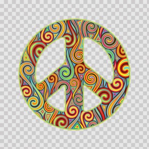 Tribal Peace Symbol 23198
