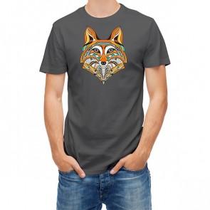 Ethnic Totem Style Fox Head 25418