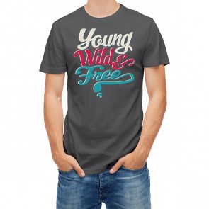 Young Wild Free Typography 25436
