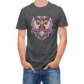 Ethnic Totem Style Owl 25442