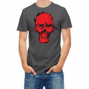 Scary Skull Monotypy Style 25445