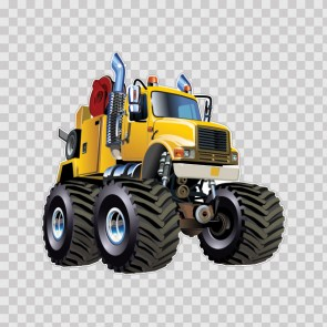 Yellow Monster Truck 26548