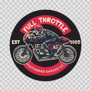 Wild Easy Rider Motorbike Garage Custom Full Throttle 26591