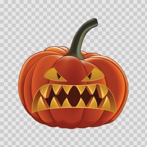 Angry Mad Evil Scary Pumpkin Halloween 26692
