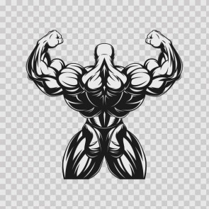 Tough Muscle Gym Training Exercise Body Building 26728
