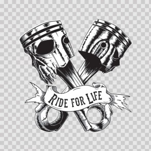 Ride For Life Pistons 26771