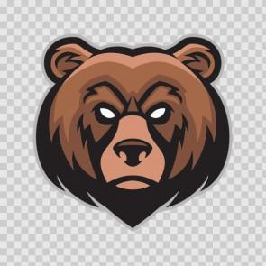 Angry Bear Head 26815