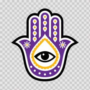 Fatima Hamsa Hand Good Luck Palm 26839