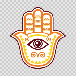 Fatima Hamsa Hand Good Luck Palm 26841