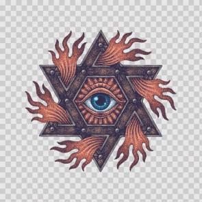 Masonic Eye Symbol 26896