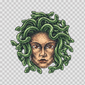 Ancient  Fantasy Medusa  Tattoo Style 26902