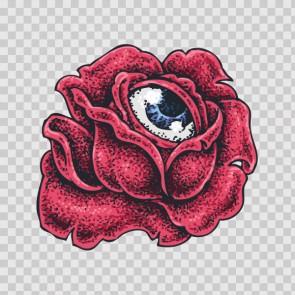 Rose Eye Tattoo Style 26943