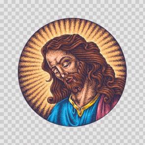 Jesus Christ Tattoo Style 26954