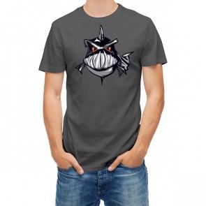 Angry Black Piranha Fish 27329