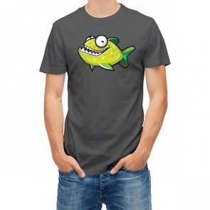 Happy Green Piranha Fish 27853