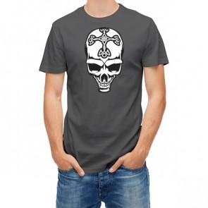 Skull With Celtic Cross 28088