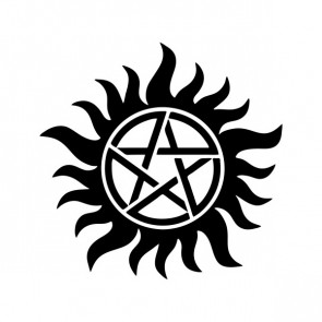 Anti-Possession Symbol Supernatural Catholic Voodoo 80003