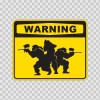 Paintballer Paint Ball Activity Warning Sign 00829