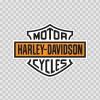 Harley Davidson Logo 01254