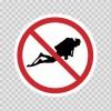 No Scuba Diving 01868