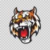 Mascot Tiger Head 01946