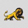 Lion Attack 01969