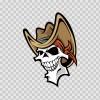 Skull Cowboy 02476