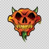 Devil Demon Skull 02485
