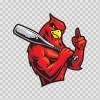 Baseball Cardinal 03082