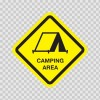 Camping Area Sign 03223