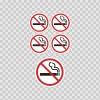 No Smoking Signs 03228