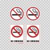 No Smoking Sign 03233