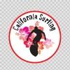 California Surfing Souvenir Memorabilia 03372