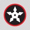 Martial Arts Ninja Star 03805