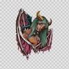 Woman Fantasy Magic Creature 04629