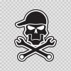 Skull The Mechanic 04955