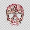 Skull Floral 04958