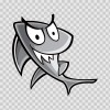 Cartoon Shark 05145