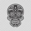 Floral Skull 05303