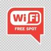 Wi Fi Free Spot Red 05777