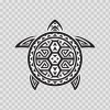 Turtle Tribal Surf Style 05831