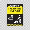 Funny Stay Away From Solar Panels 05862