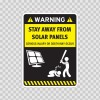 Funny Stay Away From Solar Panels 05865