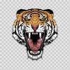 Tiger Head 06456