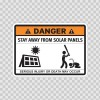 Funny Stay Away From Solar Panels 06564