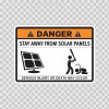 Funny Stay Away From Solar Panels 06573
