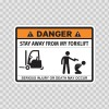 Funny Stay Away From My Forklift 06580