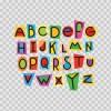 Colourful Alphabet 07125