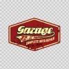 Vintage Sign Garage 07583