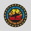Black Beach San Diego California Souvenir Memorabilia Surfing Beach 07635